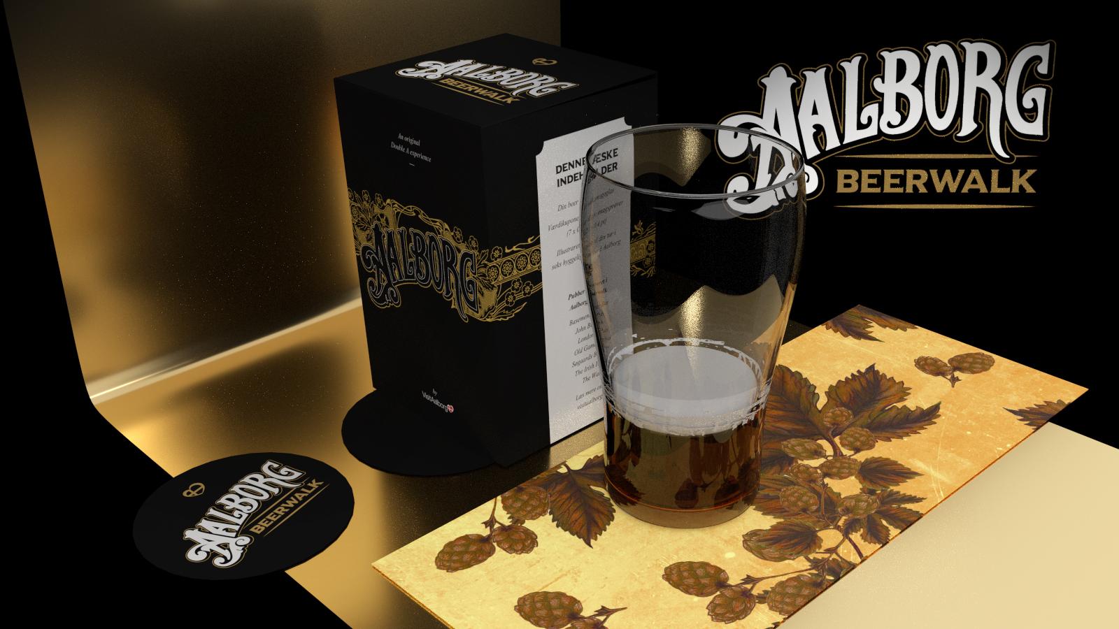 aalborg beerwalk packaging